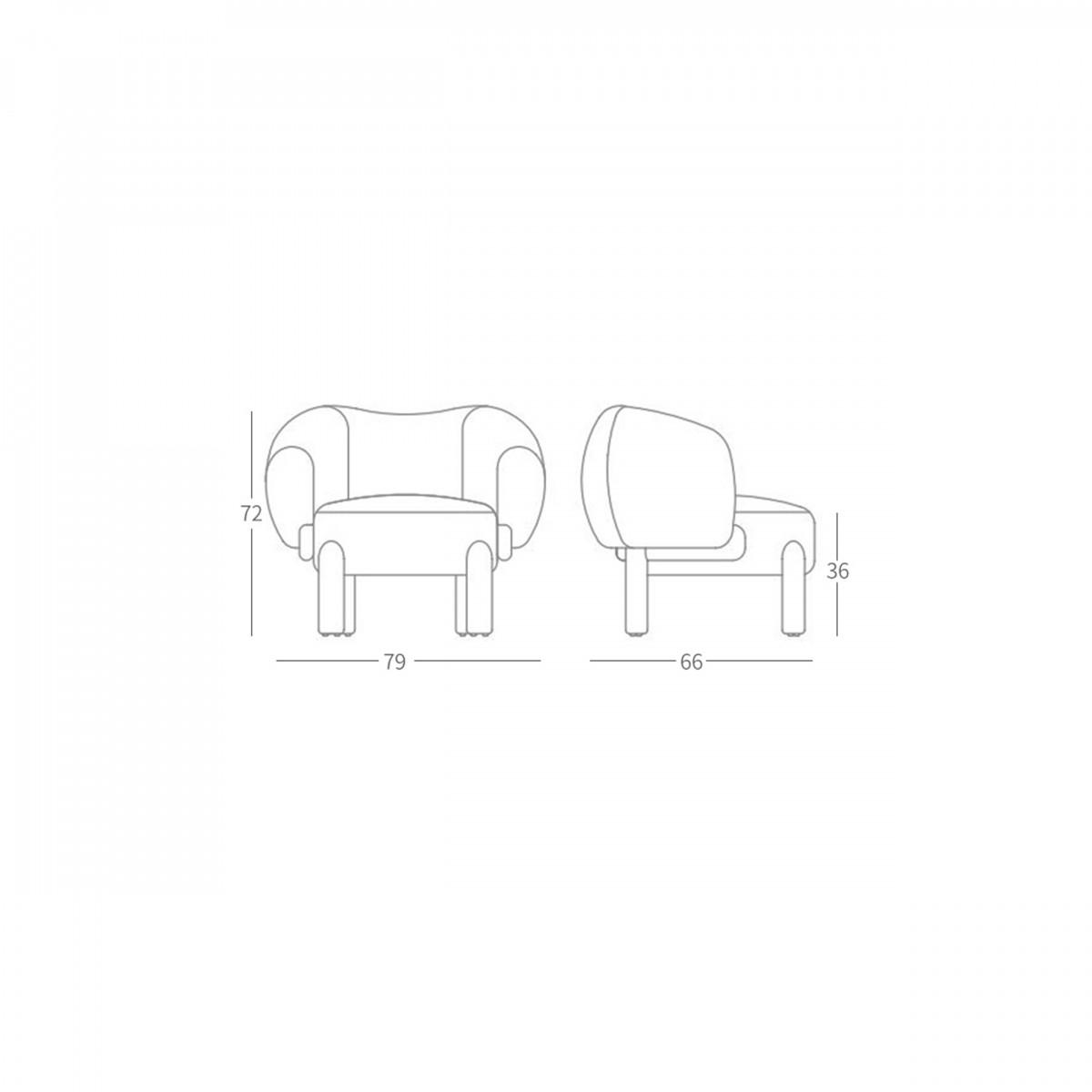Кресло by Philippe Hurel