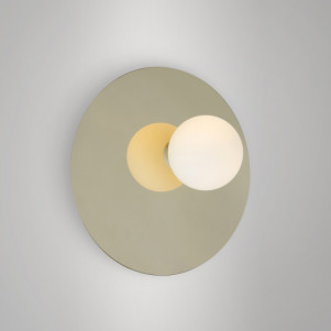 Plate and sphere (A)