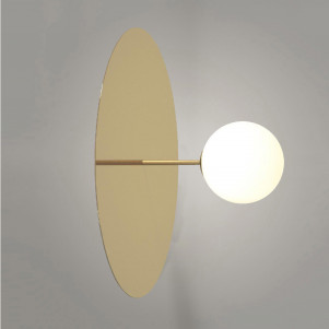 Plate and sphere (B)